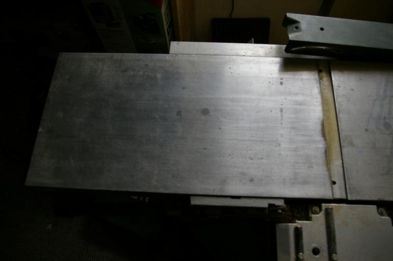 replaner table de dégauchisseuse 110