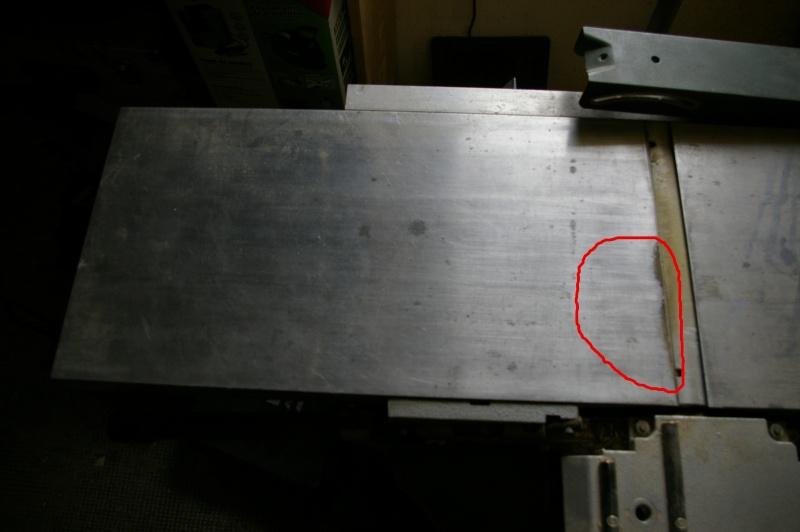 replaner table de dégauchisseuse 111