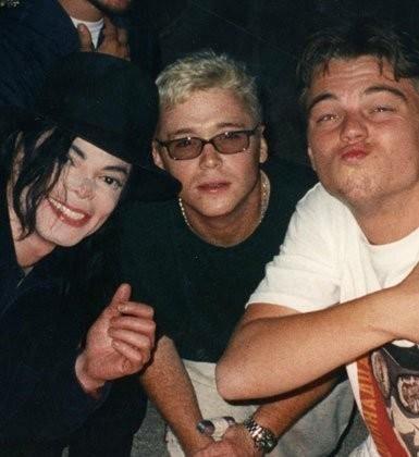 Michael Jackson e Leonardo Di Caprio Mj-and10