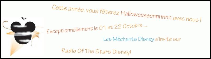 Radio of the Stars Disney : la radio des films Disney ! Hallow10