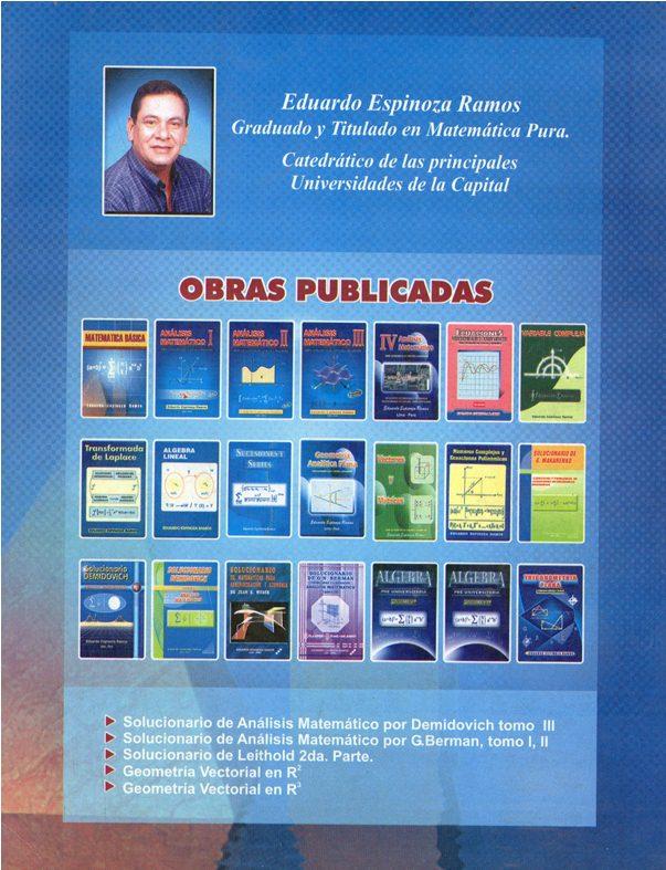Libro de Matemática basica [Eduardo Espinoza Ramos] Img18410