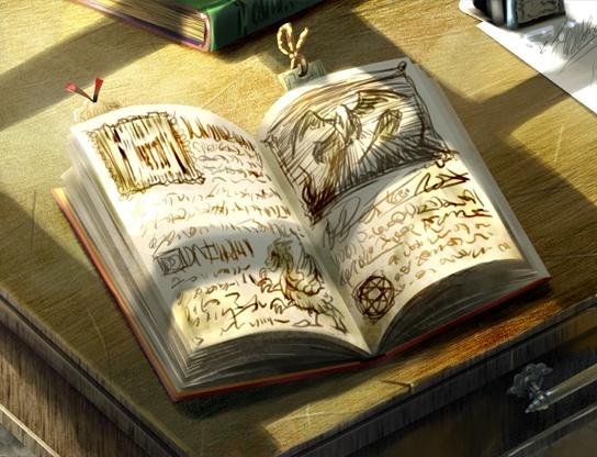 Faire un journal de quêtes complètement en events et en images ! Book11