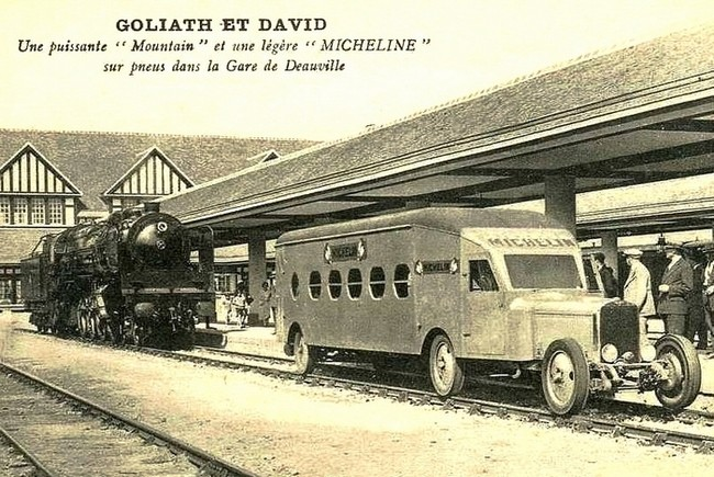 La Micheline en cartes postales Michel14
