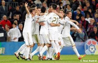 ريال مدريد سجل العديد من الاهداف في الكامب نو  Barcel11
