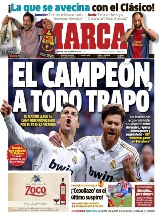غلاف صحيفة الماركا 5 - 10 - 2012  G0510_10
