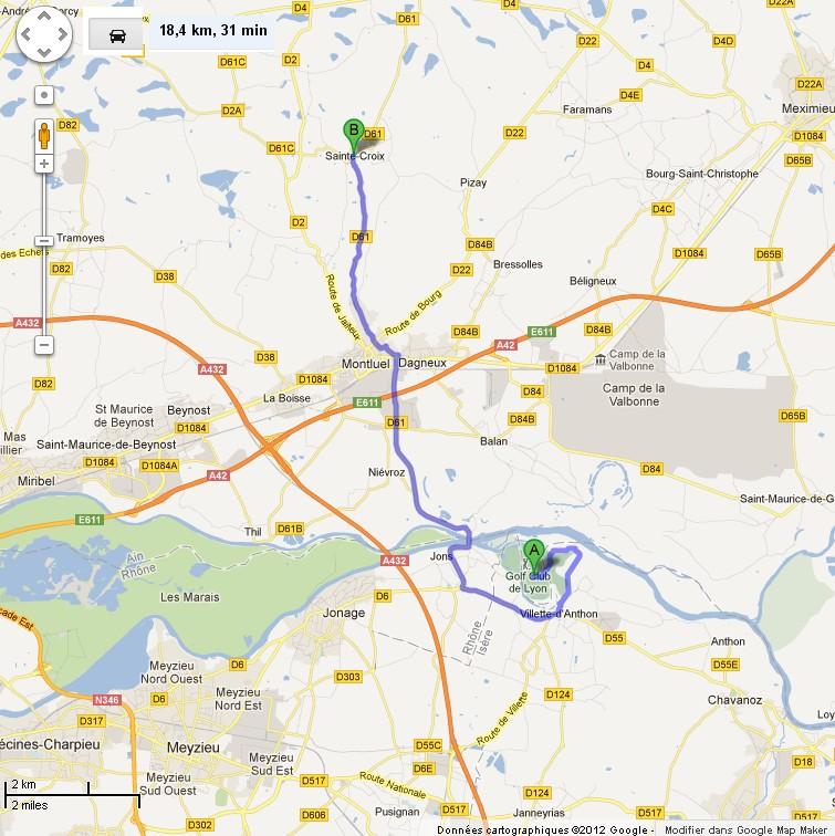 Mira Fallis : trajet Golf Club de Lyon - Sainte-Croix / Mira Fallis / MJ DEAD Golf_d10