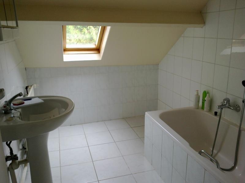 Relooking salle de bain mansardée