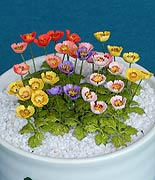 Beautiful and Realistic Paper Flower Kit / 1:12 Scale Poppy_12