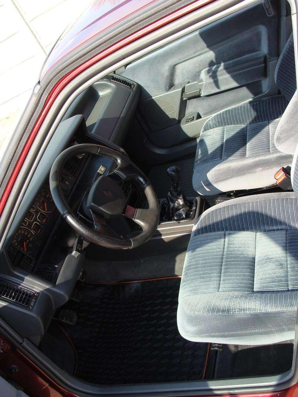 Renault 21 GTS Symphonie 1991 Dsc02411