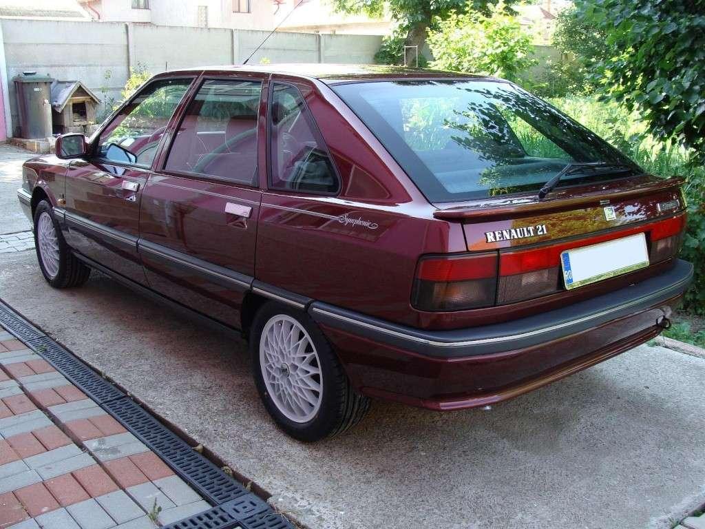 Renault 21 GTS Symphonie 1991 Dsc02615