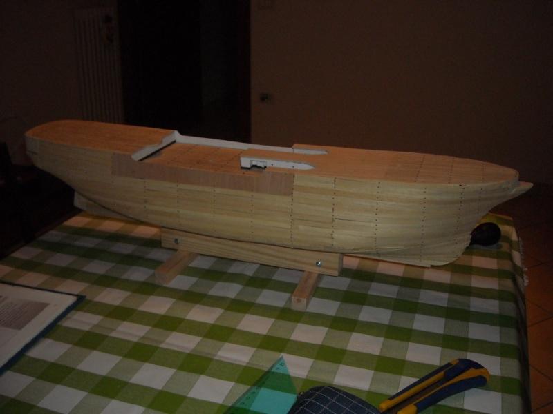 Il mio primo cantiere navale, Amerigo Vespucci, scala 1/100 DeA 42_08_16