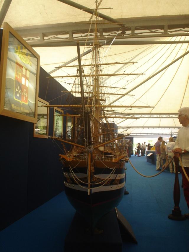 Il mio primo cantiere navale, Amerigo Vespucci, scala 1/100 DeA - Pagina 2 Dsc01510