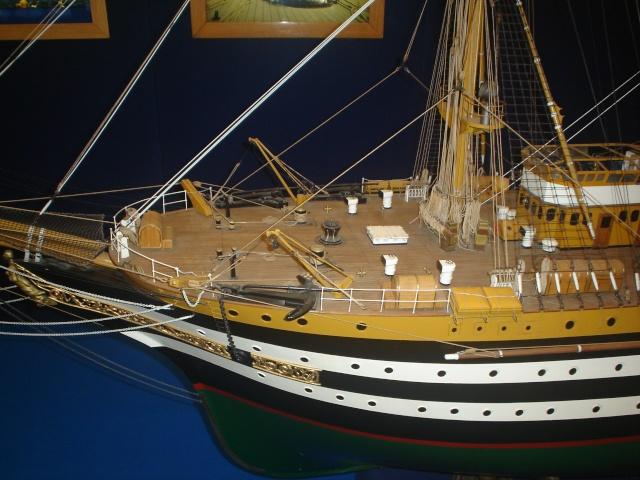Il mio primo cantiere navale, Amerigo Vespucci, scala 1/100 DeA - Pagina 2 Dsc01511