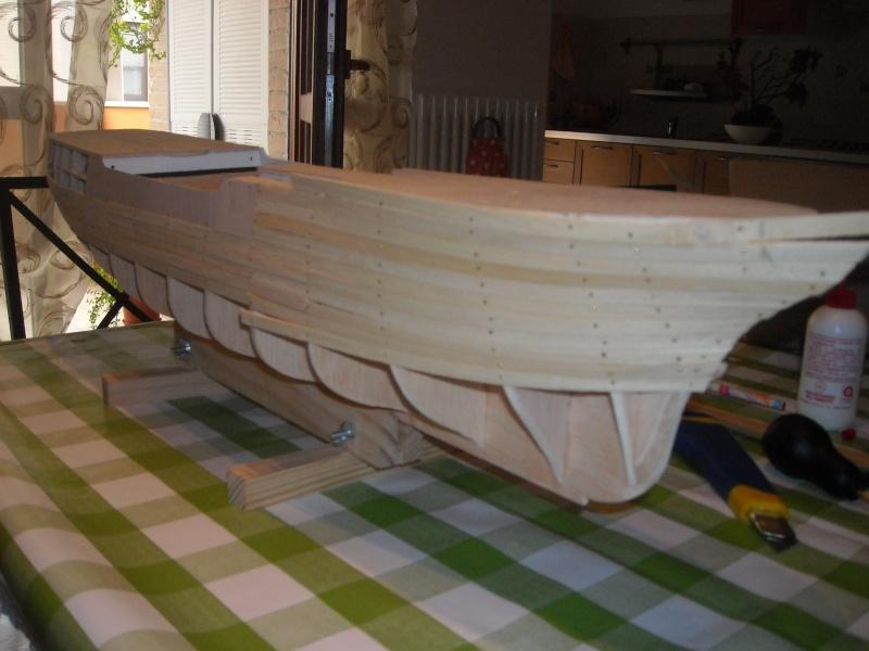 Il mio primo cantiere navale, Amerigo Vespucci, scala 1/100 DeA Dscn3512
