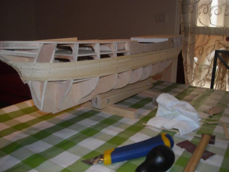 vespucci - Il mio primo cantiere navale, Amerigo Vespucci, scala 1/100 DeA Dscn3513