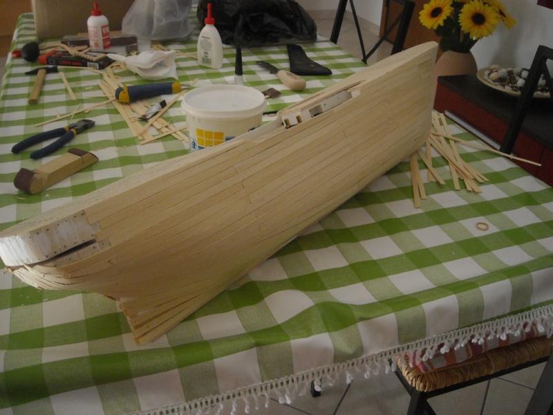 vespucci - Il mio primo cantiere navale, Amerigo Vespucci, scala 1/100 DeA Dscn3514