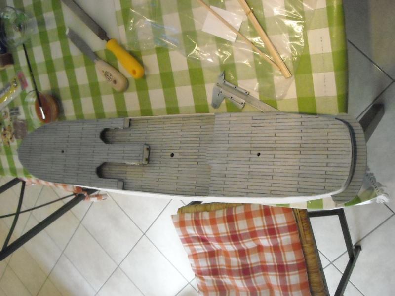 Il mio primo cantiere navale, Amerigo Vespucci, scala 1/100 DeA Dscn3611