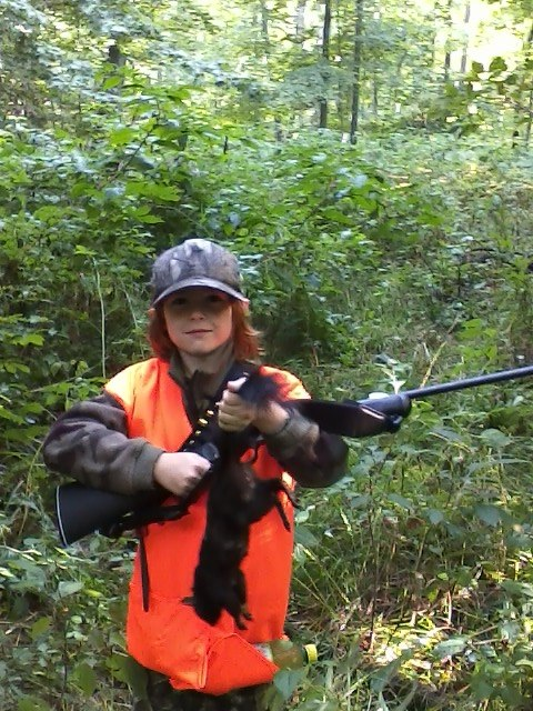 My Sons First Squirrel Aidyns11