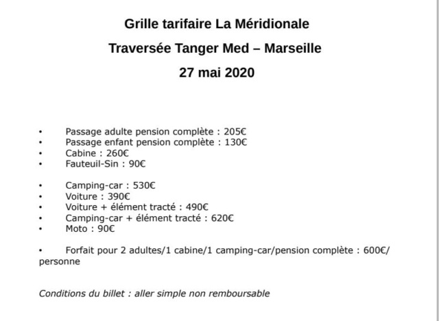 [Maroc/Le Bateau] Tanger Marseillle Grille10