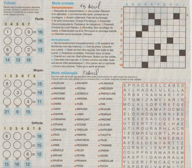 [Jeux] JEUX OUEST FRANCE du 2 Avril 2020 pour passer le temps - Page 3 Mots_m26