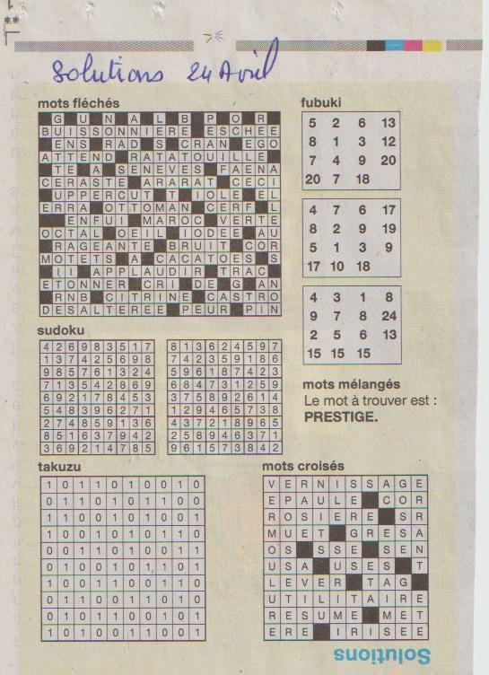 [Jeux] JEUX OUEST FRANCE du 2 Avril 2020 pour passer le temps - Page 3 Zoluti13