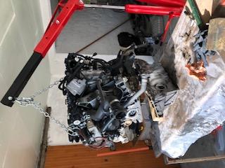 [ BMW E83 X3 xDrive 2.0D N47d20a an 2007 ] Démontage moteur suite cliquetit Img_9611