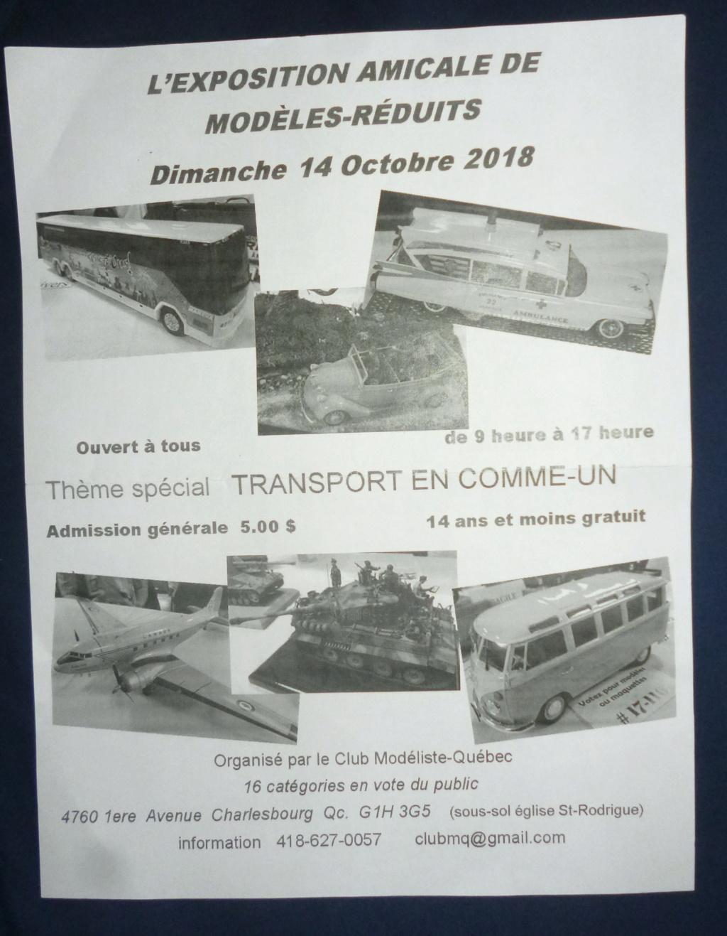 Exposition de Québec, 14 octobre 2018 Shows_10
