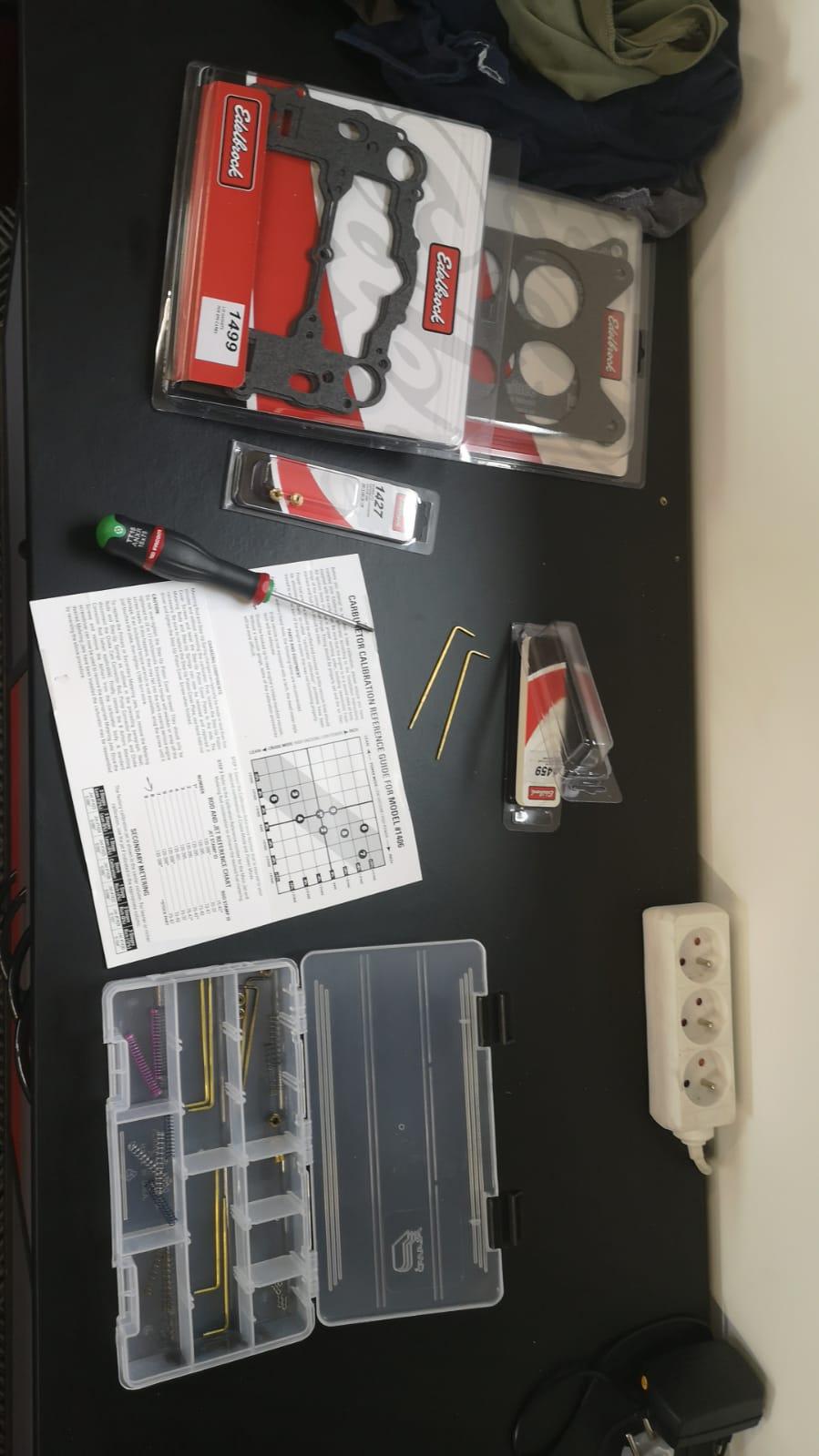 kits de réparation carburateur Edelbrock Img-2013