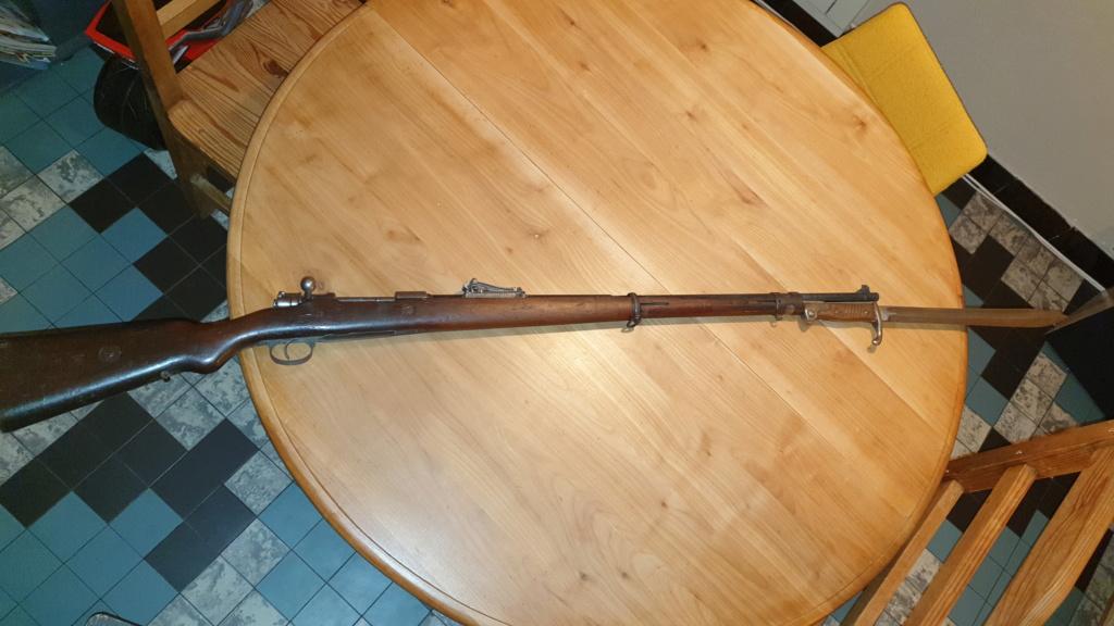 Restauration Mauser G98 20210128