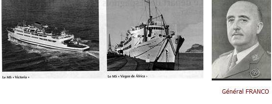 Une page méconnue de notre Histoire ...LE GENERAL FRANCO ET LES PIEDS NOIRS 00_fra11