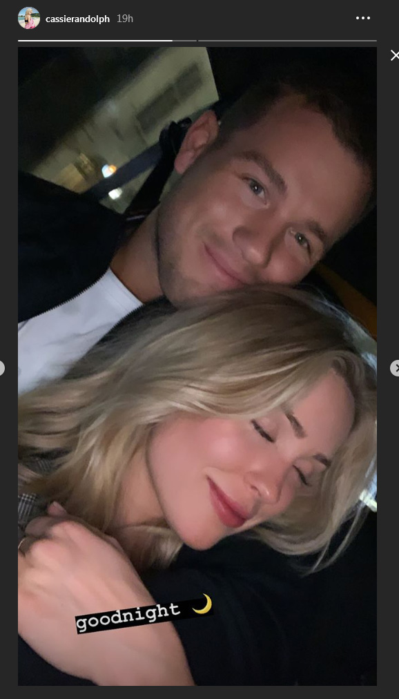 Colton Underwood & Cassie Randolph - Updates - FAN Forum - Page 12 Sleepi10