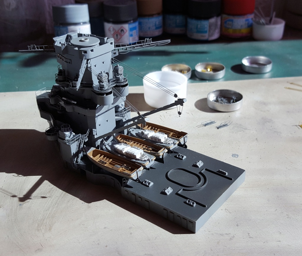 Dunkerque Hobby Boss au 1/350 + kit détaillage ShipYard. - Page 14 20180811