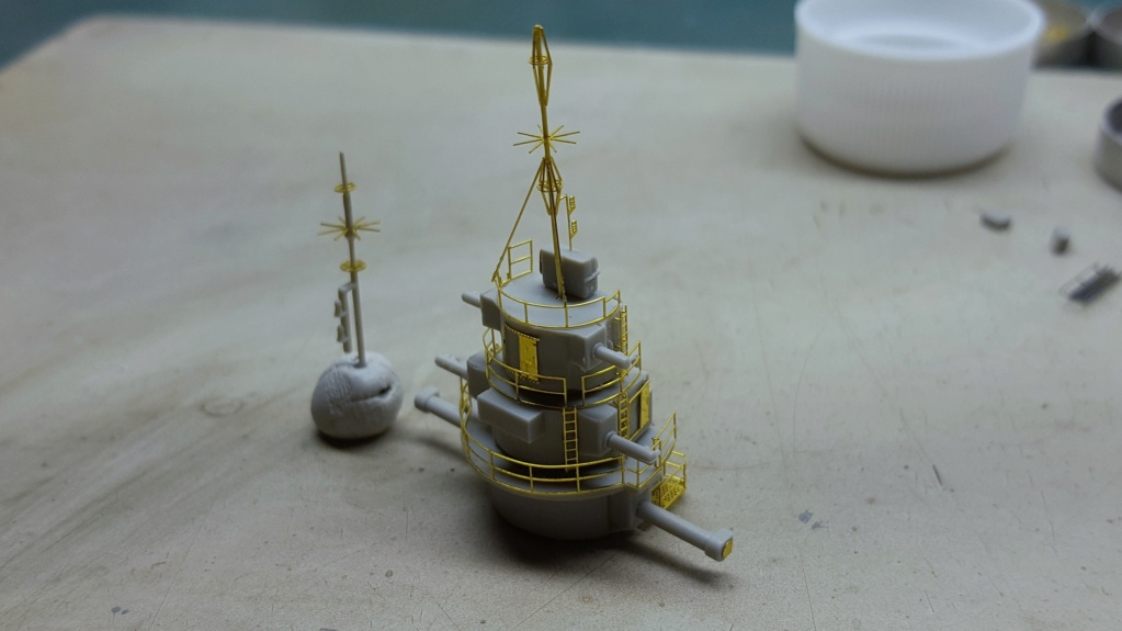 Dunkerque Hobby Boss au 1/350 + kit détaillage ShipYard. - Page 14 20180813