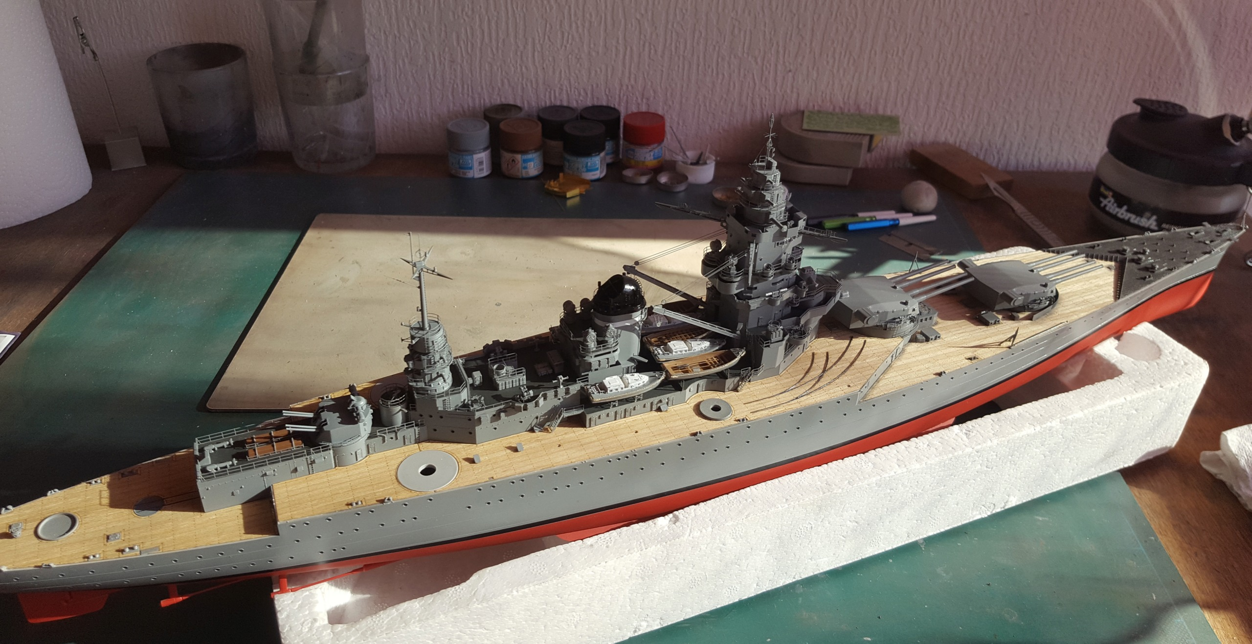 Dunkerque Hobby Boss au 1/350 + kit détaillage ShipYard. - Page 19 20180920