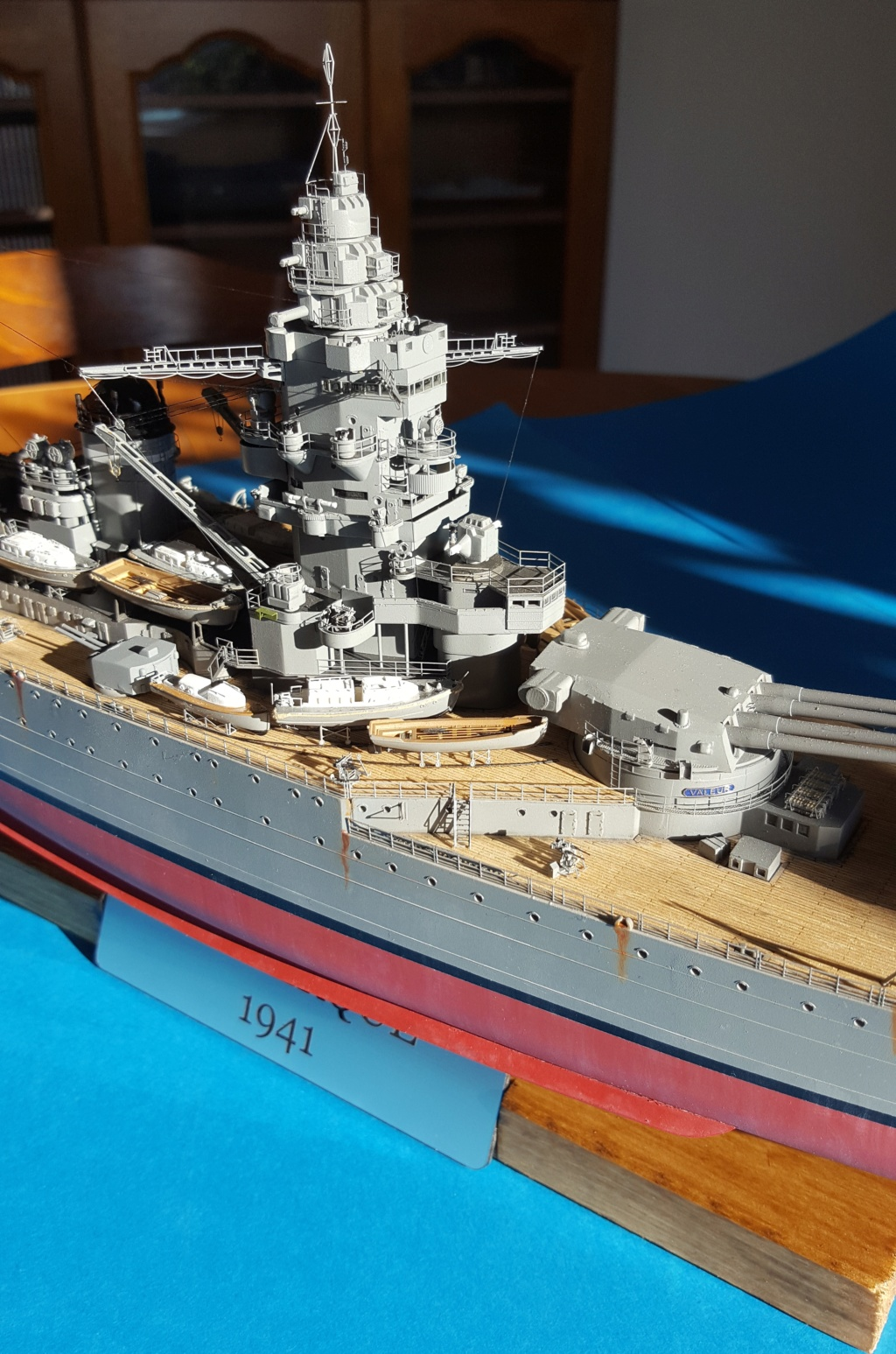Terminé - Dunkerque Hobby Boss au 1/350 + kit détaillage ShipYard. 20181149