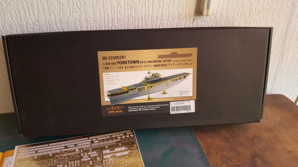 Yorktown CV5 Merit au 1/350 + kit détaillage infini Model 20190230