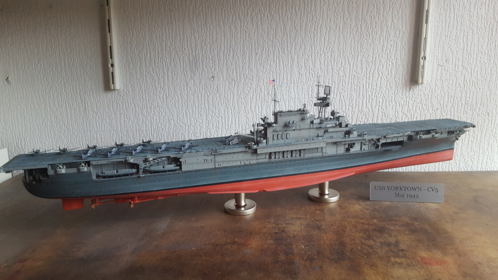 Yorktown CV5 Merit au 1/350 + kit détaillage infini Model - Page 26 20191039