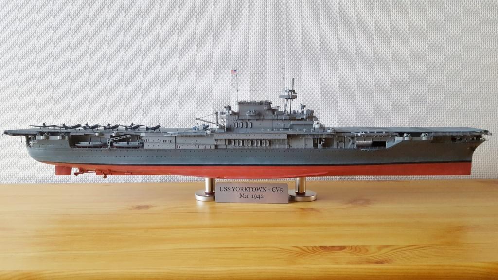 Terminé - Yorktown CV-5 Merit 1/350ème 20191042