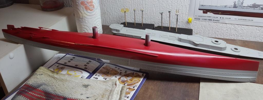 HMS Exeter 1939 + Set PE ShipYard au 1/350 - Page 2 20191124