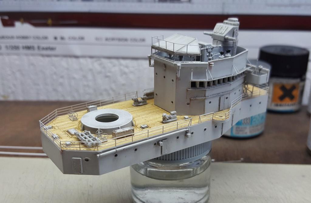 HMS Exeter 1939 + Set PE ShipYard au 1/350 - Page 2 20191148