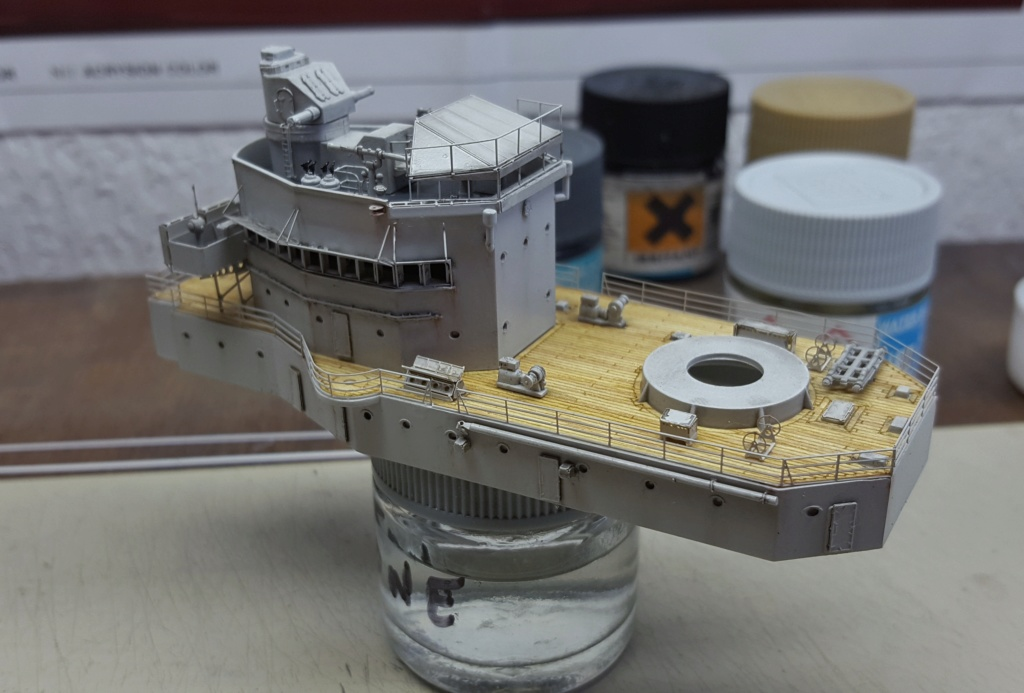 HMS Exeter 1939 + Set PE ShipYard au 1/350 - Page 2 20191151