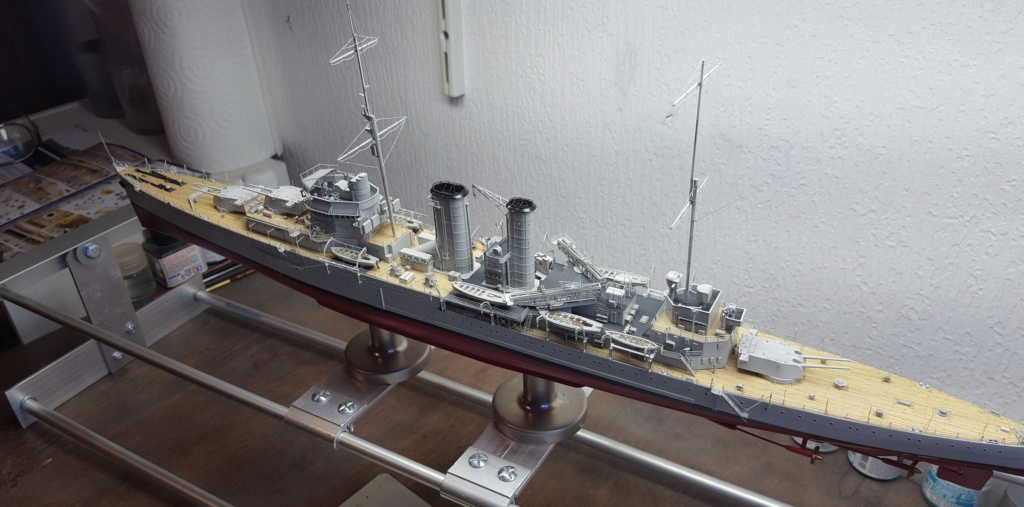 HMS Exeter 1939 + Set PE ShipYard au 1/350 - Page 14 20200337