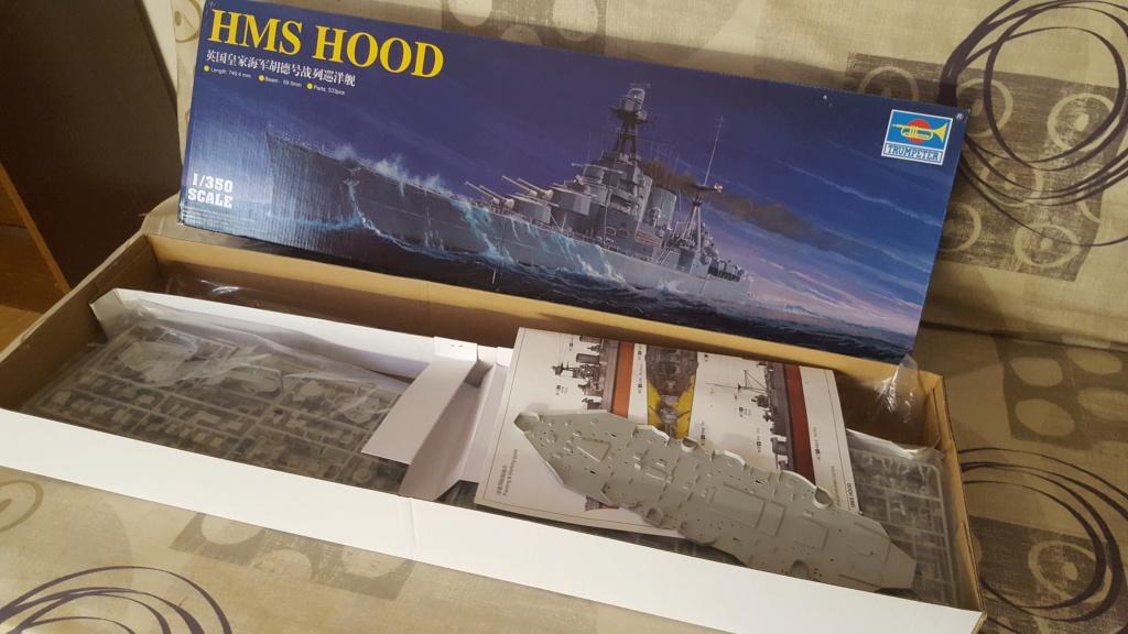 HMS HOOD 1/350 Trumpeter + PE... 20200619