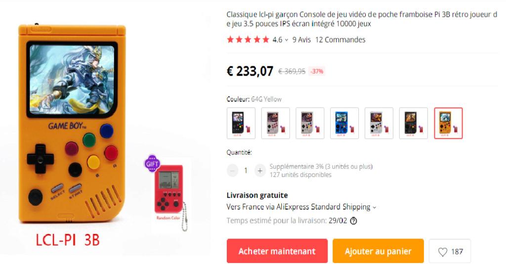 [VDS] RG 350 Comme neuve avec étui et films ecran a poser Gamebo11