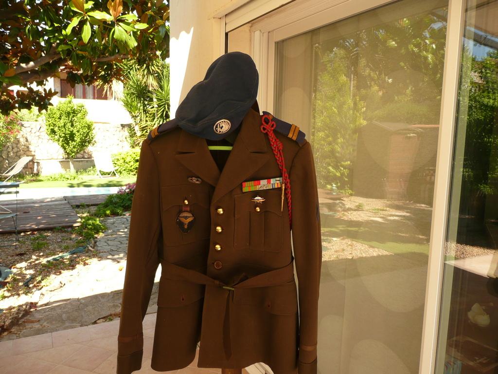 uniforme lieutenant 1/3 rcp 1948 P1040411