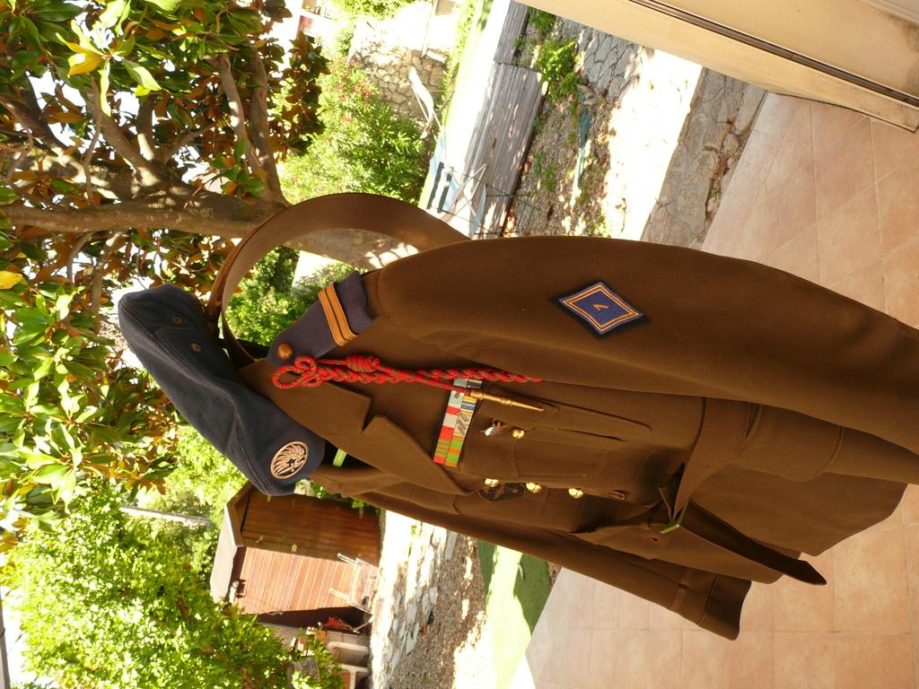 uniforme lieutenant 1/3 rcp 1948 P1040412