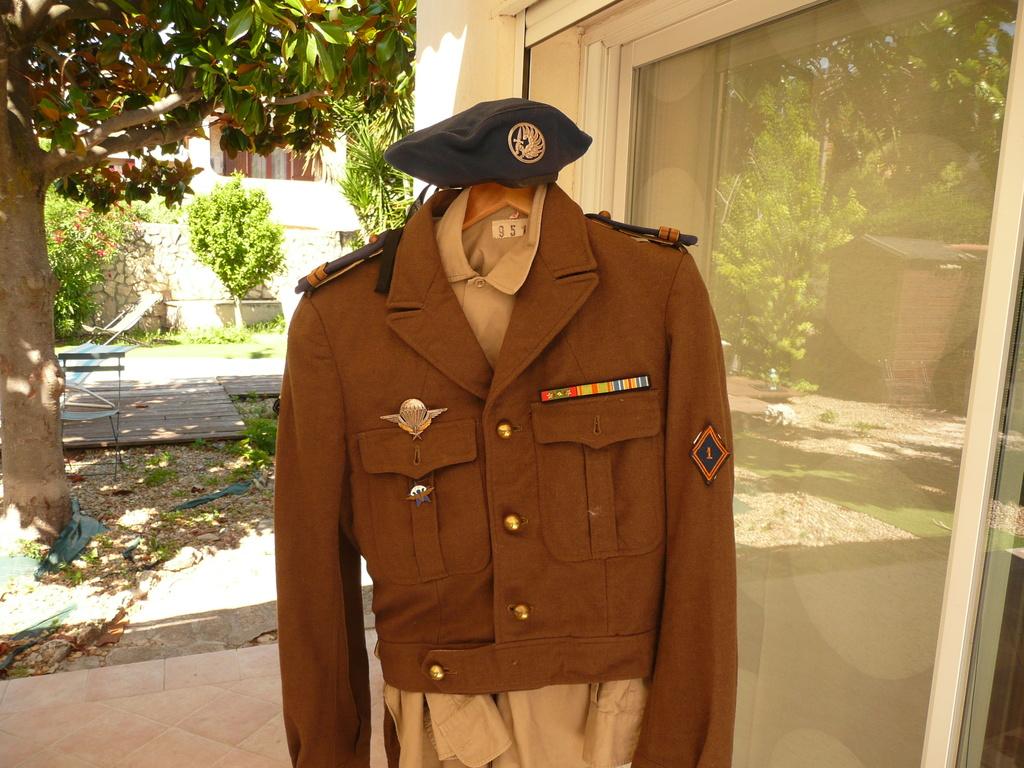 uniforme lieutenant 1/3 rcp 1948 P1040414