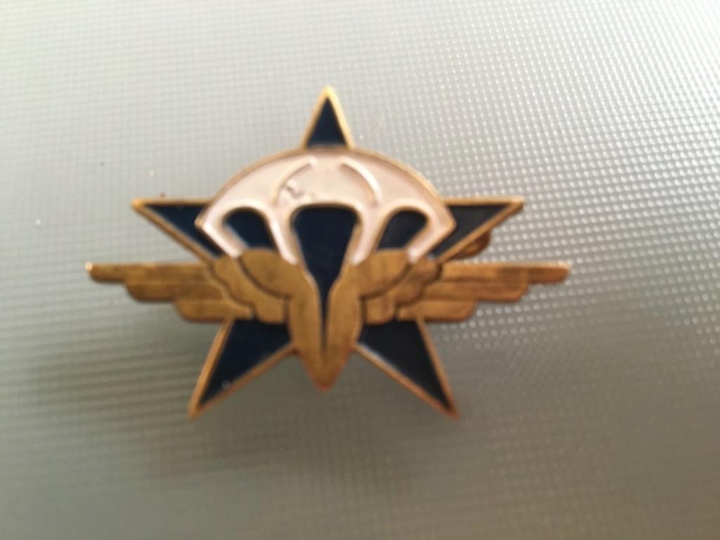 casque d'entrainement TAP et insigne Graziani Thumbn94