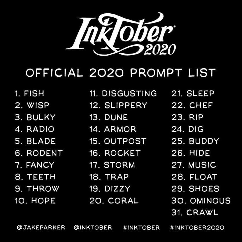 [Scriptober] Scriptober 2020 Inktob10