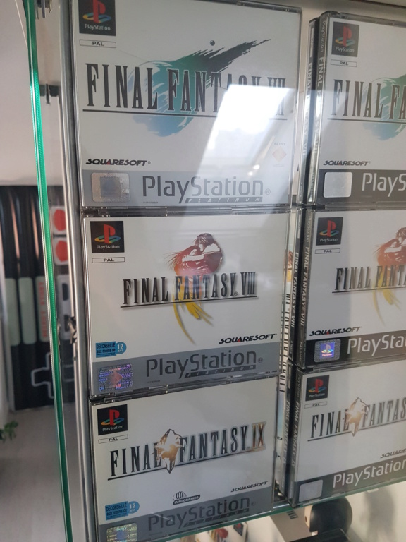 Objectif Fullset PS1 PAL Platinum = 76/152 jeux 20200856